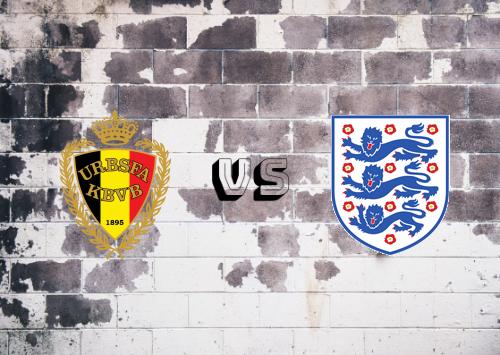 Bélgica vs Inglaterra  Resumen y Partido Completo