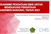 Mekanisme Data EMIS Untuk Mendukung Pendataan AN Tahun 2021