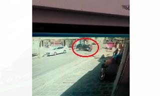 No dia do aniversário: homem é atingido por carro em fuga e morre na hora, em Campina; vídeo