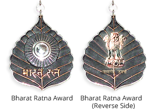 Bharat Ratna award recipients list year wise since 1954