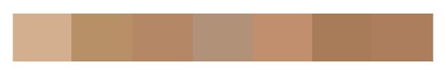 Оттенки цвета camel