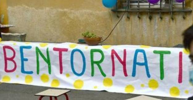 وسط اجراءات مشددة وخوف شديد، إيطاليا تعيد فتح المدارس، وعودة التلاميذ، بعد انقطاع طويل بسبب وباء كورونا