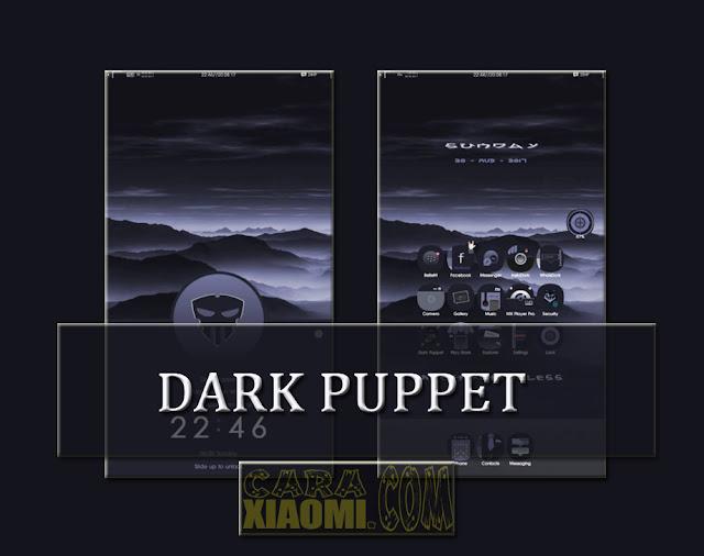 Best Themes - MIUI Theme Dark Puppet Mtz For Xiaomi Update