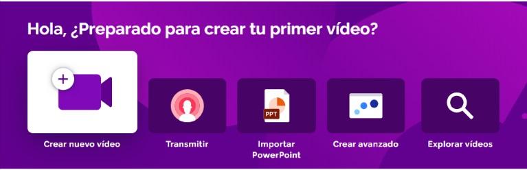 4 formas de crear video con Prezi Video