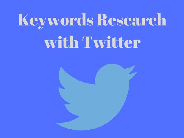 twitter keyword research