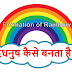 इंद्रधनुष (rainbow) कैसे बनता है? How to make rainbow in Hindi