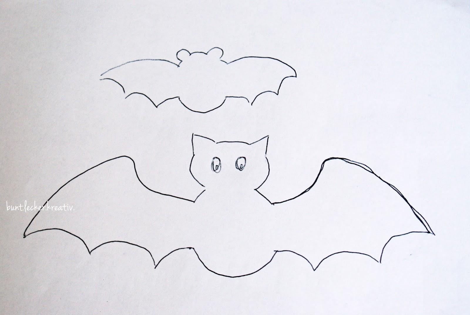 Kleine Fledermaus Als Halloween Dekorations Idee Hexenlabor
