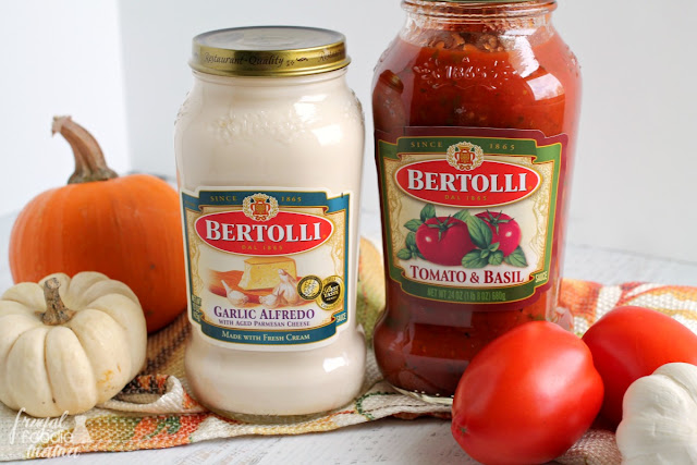 Bertolli sauces makes creating an authentic Tuscan Inspired Sunday Dinner easy and affordable. #BertolliDinnerParty #spon