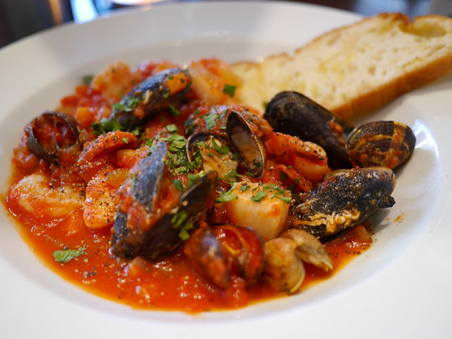 zuppa pomodoro e pesce