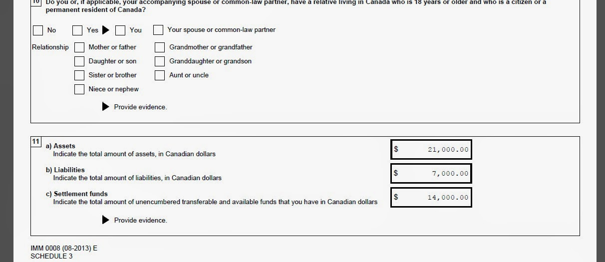 How Did I Showed My Proof Of Fund? Since I Applied For An FSW On 2007,  Which Was Returned By The Way, I Had Already Prepared My Bank Accounts  During That ...