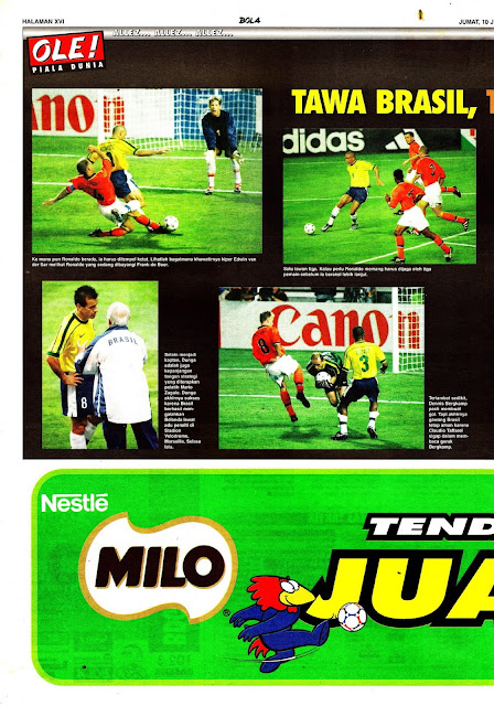 WORLD CUP 1998 BRASIL VS NETHERLAND PICTURES GALLERY