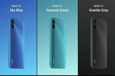 Desain Bodi Xiaomi Redmi 9A