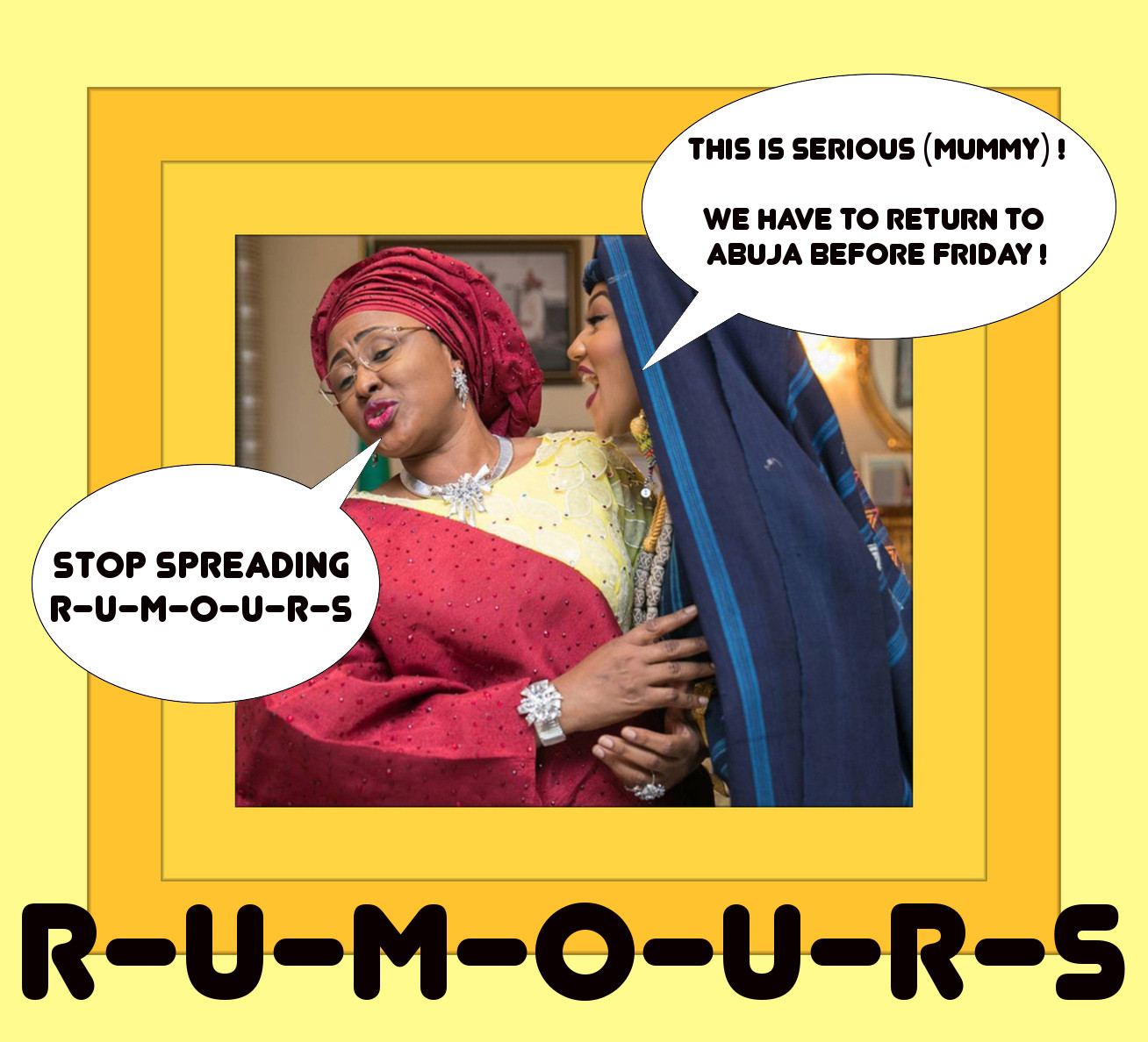 Rumours | Nigeria Celebrity News Blog | The Other Room | Top Nigerian Online Soap Opera | Naija #1