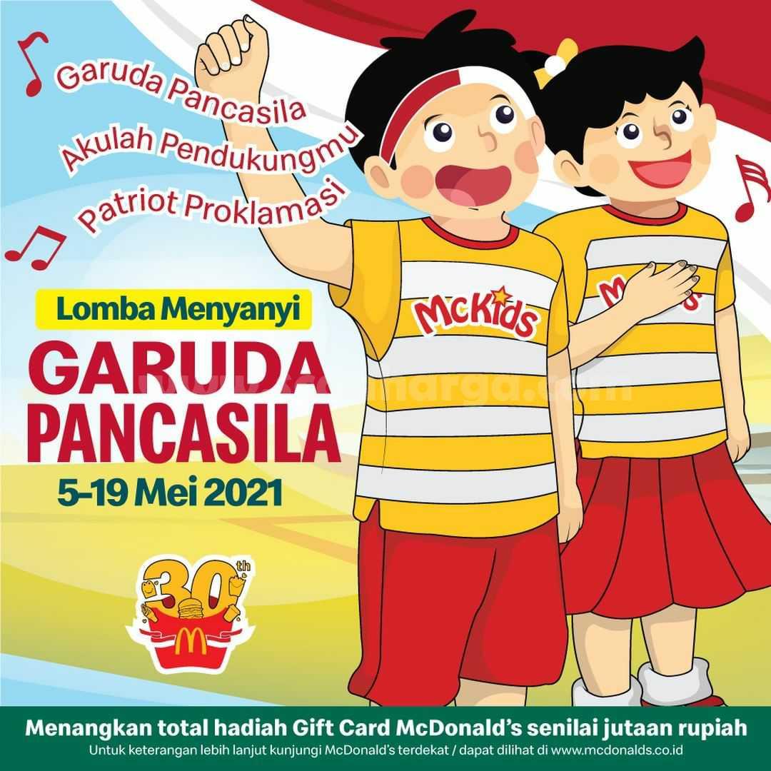 McKids Lomba Nyanyi GARUDA PANCASILA di McDonalds