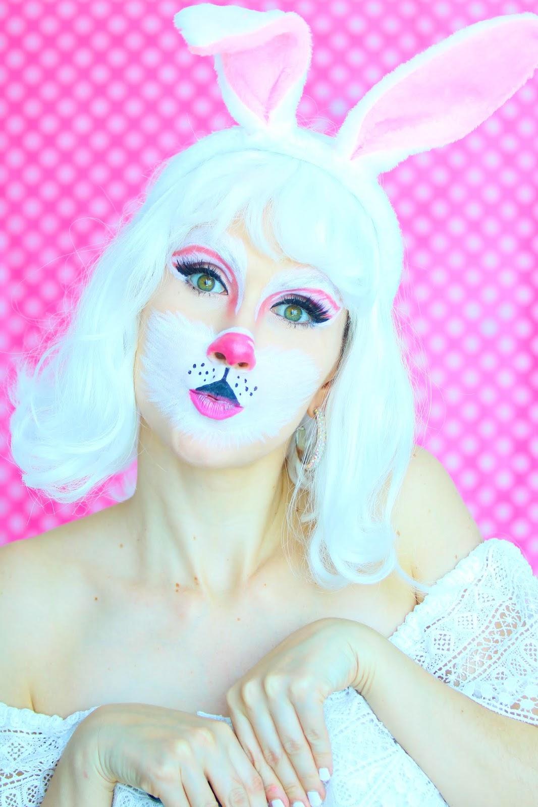Cute Bunny Makeup
