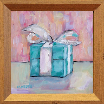wrapped-present-oil-painting-merrill-weber