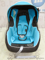 Infant Car Seat Pliko PK02 New Born - 13 kg Blue/Black