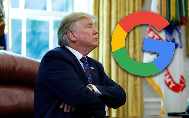 Donald Trump accuses Google of wanting to manipulate the US elections of 2020