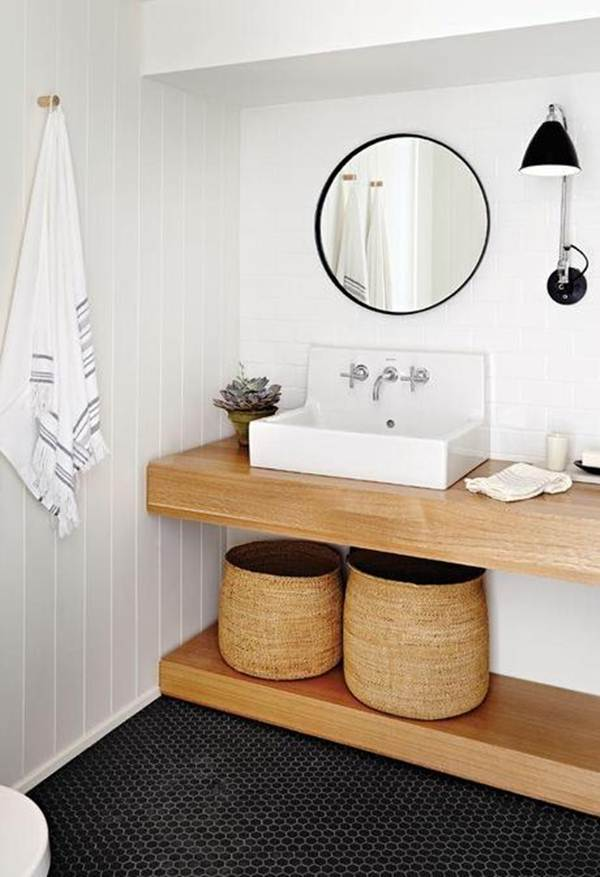 Ideas To Decorate In White And Wood 10