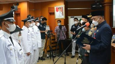 Bupati Tangerang Lantik 6 Kepala Desa Hasil PAW Serentak