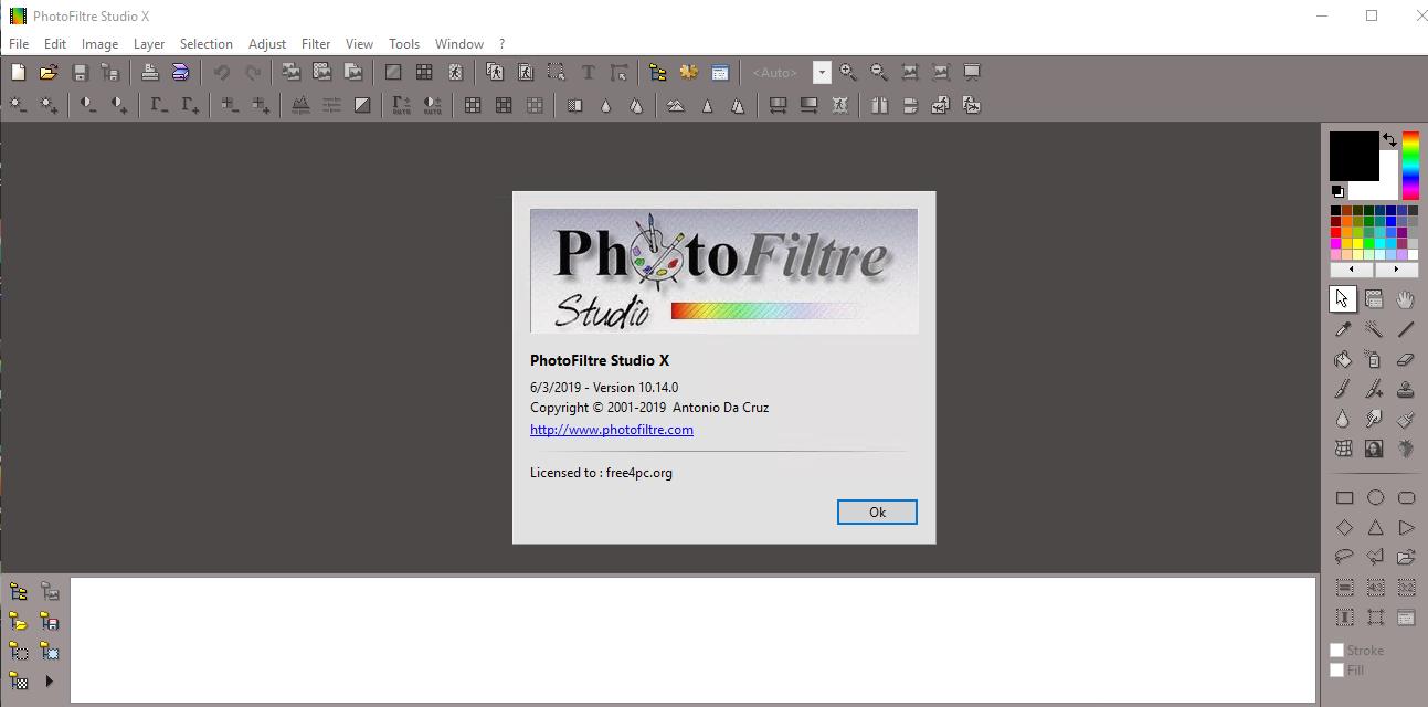 تحمبل أفضل برنامج لتحرير الصور وتعديلها PhotoFiltre Studio X 10.14.0