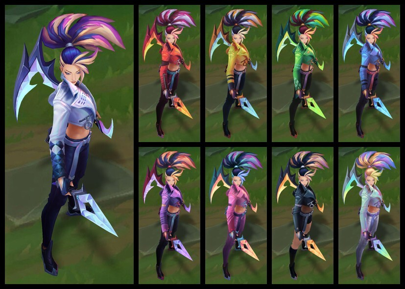 K/DA ALL OUT Akali Chromas