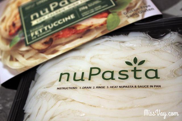 NuPasta pâtes konjac santé fibres