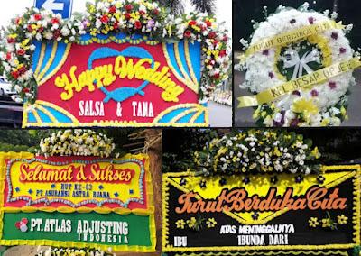 toko karangan bunga duka cita Jakarta Timur