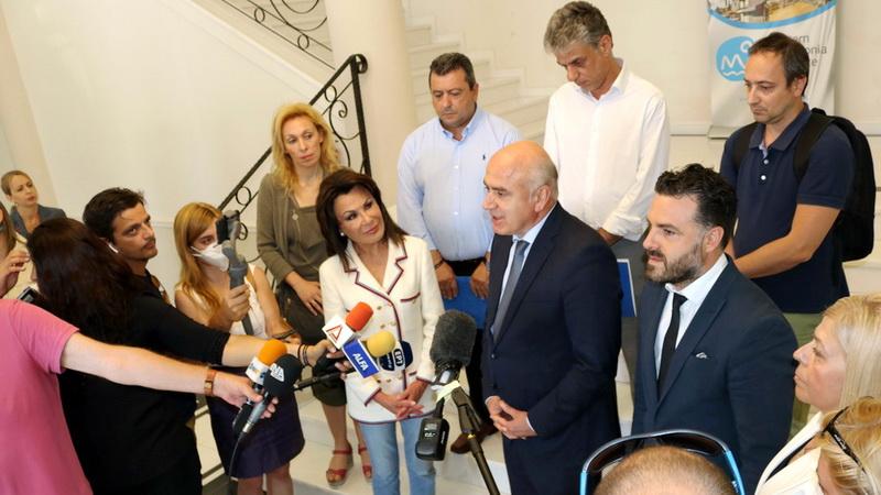 Στην Αλεξανδρούπολη η Πρόεδρος της Επιτροπής «Ελλάδα 2021» Γιάννα Αγγελοπούλου - Δασκαλάκη