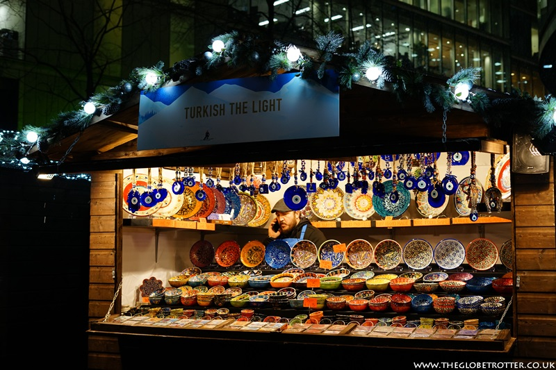Shopping at London's Christmas Markets