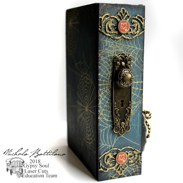Mad Hatters Secrets Hidden Drawer Book - Nichola Battilana