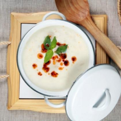 Corn Chowder with Tomato Relish Recipe
