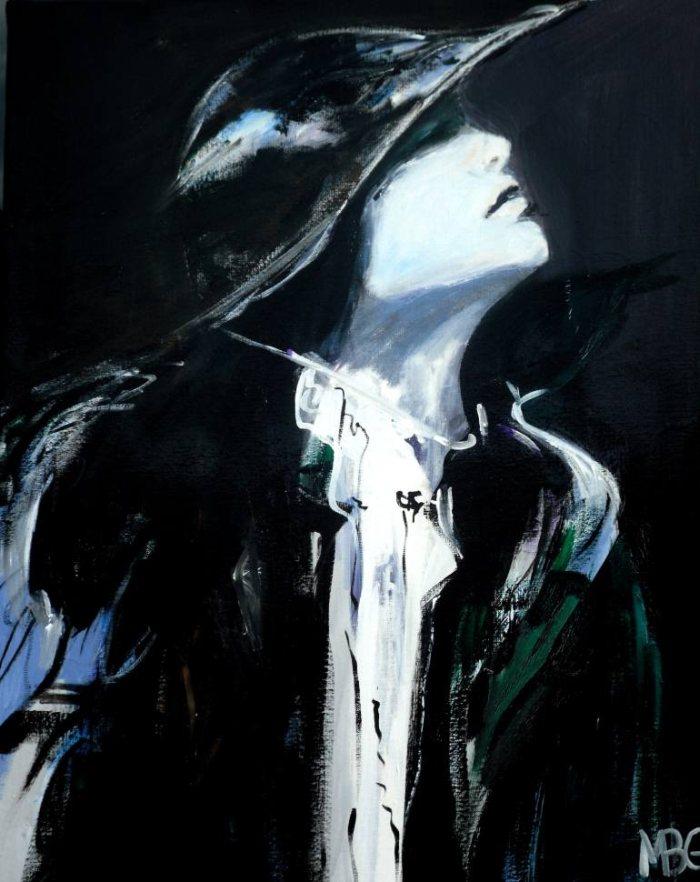 Фигуративная живопись. Marie-Blanche Giannorsi