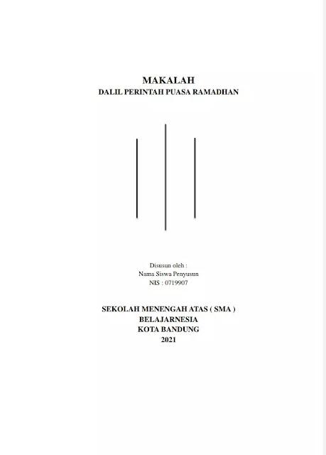 Download Makalah Puasa