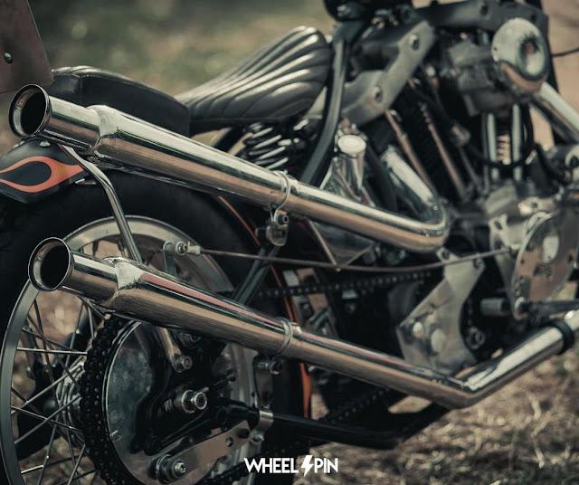 Harley Davidson Ironhead By Vintage Helmet Thailand Hell Kustom