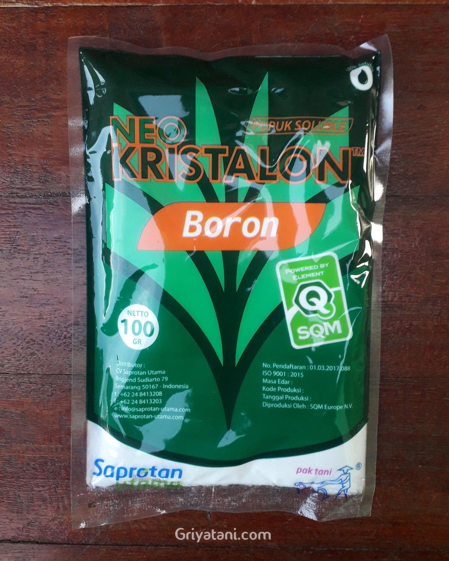 pupuk Boron