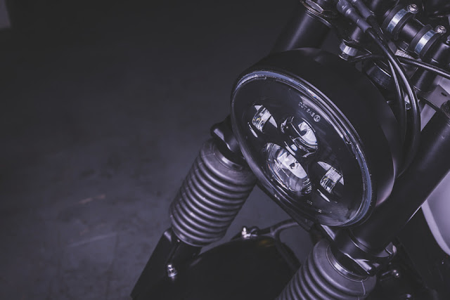 BMW R100RS By Bolt Motor Co. Hell Kustom