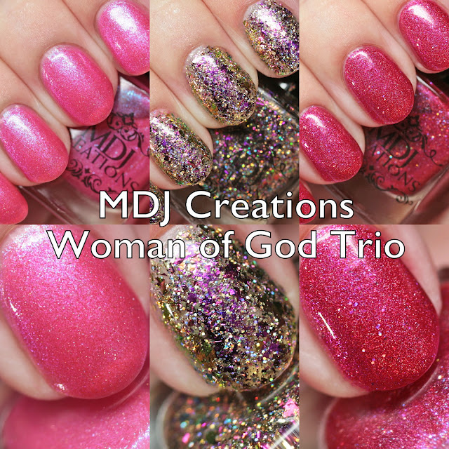 MDJ Creations Woman of God Trio