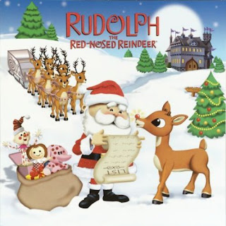 The story of Rudolph, the reindeer By Vibhu & Me