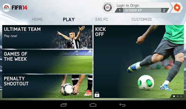Download FIFA 14 Mod PES 2018 Apk Data OBB Full Unlocked