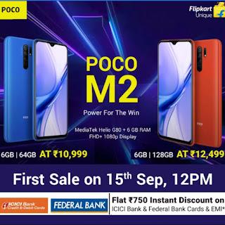 POCO M2 Mobile Phone India