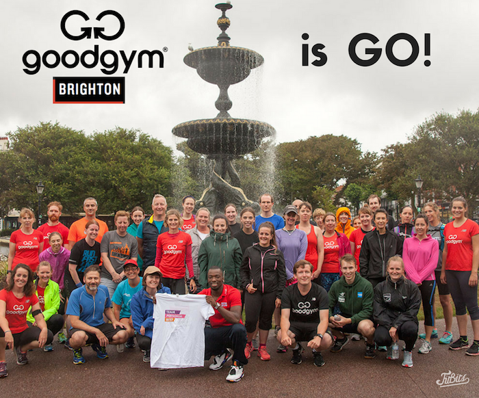 GoodGym Brighton launch July 2017 - Tess Agnew UK fitness blogger