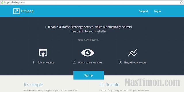 Cara mendapatkan ribuan Visitor organik di blog dengan sekali klik