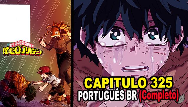Boku no Hero Academia Capitulo 325 - PORTUGUÊS BR (Completo) + ANALISE