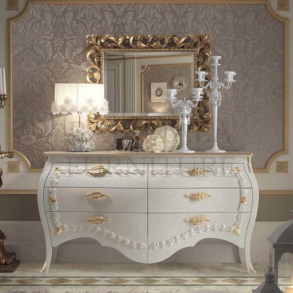 Meja Konsul Mewah Ukiran Jepara Luxury Classic Art Deco Jepara RM-0013