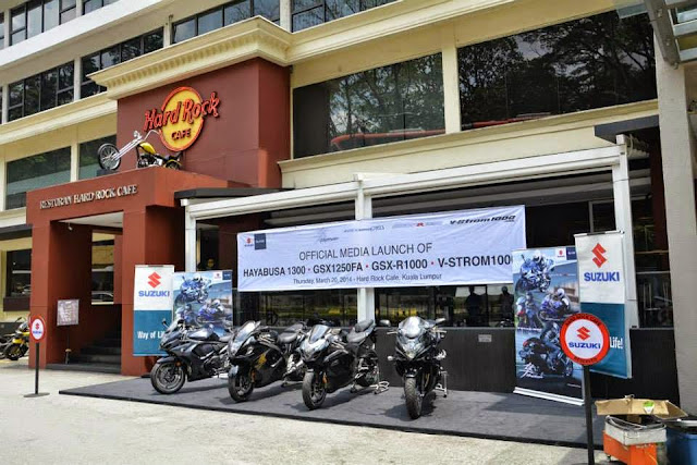Suzuki Malaysia Lancar 4 Model Superbike 2014 - Era Baru Suzuki Di Malaysia
