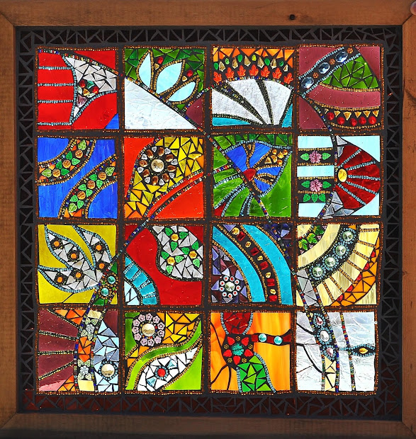 Stained Glass Mosaic Patterns
