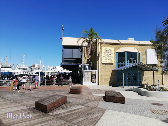 Kailis Cafe best Fish n Chip in Fremantle Perth