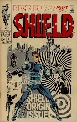 Agent of SHIELD #4, Jim Steranko