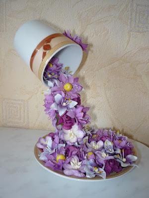 Fincandan Çiçek Şelalesi Yapılışı